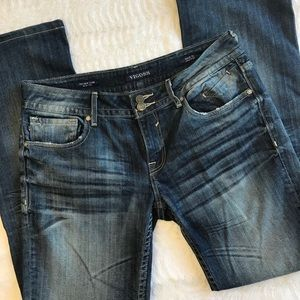 Vigoss New York bootcut jean with perfect distress